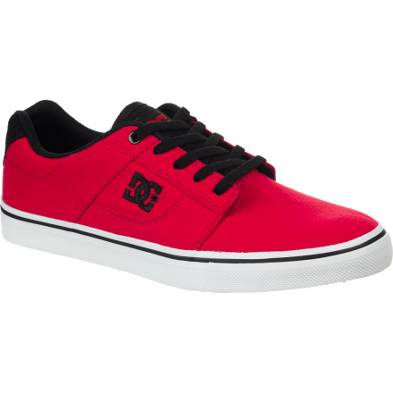Skateboard The DC Bridge TX Skate Shoe features a classic vulcanized construction and a super-slim profile for precise flicks on your frontside flips. - $44.00