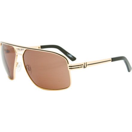 Entertainment When you find yourself with a terrible hand during a high-stakes poker game, slide on the Electric Vegus Sunglasses and go all-in. Thanks to the large-coverage lens and slick wire-frame shape, everybody will think youre holding pocket aces. - $109.95