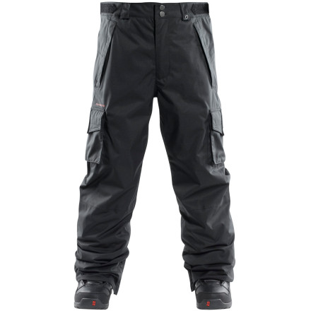 Snowboard The Foursquare Mens Studio Pant lives and breathes to shred the slopes and flash the ladies with its cool style. - $55.98