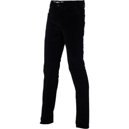 Surf Hit the skatepark in the Hurley 84 Cord Men's Pant and still look classy enough to head downtown afterwards. Breathable cotton fabric has a touch of spandex for unrestricted movement. - $45.14