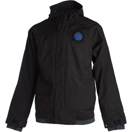 Snowboard Nomis beefed up the features on the waterproof breathable Mens SC Simon Chamberlain Jacket to ensure that you wont act like a Sally on the slopes because of subzero temperatures and blinding blizzards. - $69.59