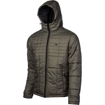 Surf Whether you layer it up under a shell while riding or rock it over your flannel in the city, the Quiksilver Nomad Hooded Jacket will be your guide no matter which landscape you choose to explore. - $90.00