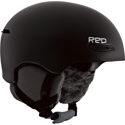 Snowboard The Red Women's Pure Helmet is the luxury car of helmets. The Air Pad fit system features an adjustable band of air to dial the fit perfectly to your head, and the fleece lined ear pads make it feel more like your favorite pair of slippers rather than a helmet. - $50.97