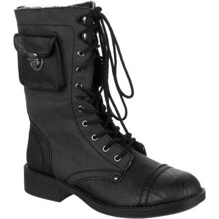 Surf The Roxy Women's Oregon Boot has an old-timey style that looks like it would fit well with a gingham dress, and that is why it looks so great when you wear it with ultra-modern leggings or a short skirt. This boot shows off your unique style and whimsical approach to fashion. - $67.15