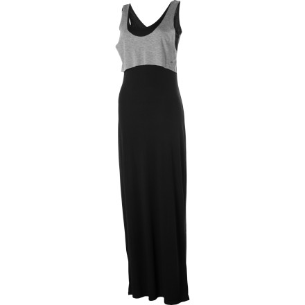 Entertainment The Volcom My Favorite Maxi Dress creates a look that is simple, laid-back, and refined. Its versatile style makes it a win for work, dinner, or dates. - $24.47