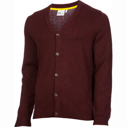 Entertainment The WeSC Borik Cardigan Sweater can turn a completely boring T-shirt and jeans combo into a slick look that is good enough for pretty much any occasion, even if that T-shirt you're wearing happens to a little beer-stained. - $47.96