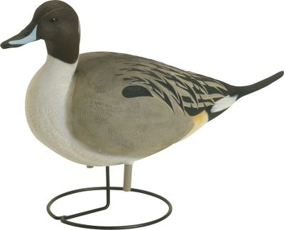 "Hunting Mark well where you place these decoys lest you mistake them for the real thing. Such is the amazing attention to detail in their durable, lifelike paint schemes and construction. The Pintail Duck Decoys feature active drake pintails that will draw attention to your spread. Color schemes and markings with accurate feather detail. Drakes only. Per 4. Dimensions: 22-1/4""L x 7""W x 11""H. - $74.88"