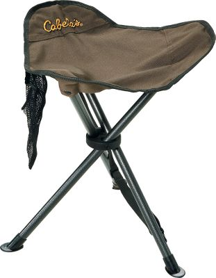Camp and Hike Ultracompact and lightweight tripod stool that you can use anywhere. PVC-coated, 600-denier polyester upholstery resists moisture, tearing and abrasion. Powder-coated steel frame is extremely strong and boasts a 225-lb. weight capacity. Integrated mesh pocket stores your essentials. Includes carry bag.Dimensions: 17.5H x 15.7W.Weight: 1.8 lbs. - $7.88