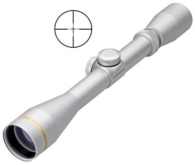 "Hunting The UltimateSlam takes the guesswork out of long-range shots with your black-powder rifle. Instantly adapts in the field with an easy-to-use power selector to provide pinpoint accuracy for whatever charge you need to take down a trophy at distances up to 300 yards. Leupold's advanced Sabot Ballistics Reticle (SA.B.R. ) provides ranging and holdover points you can count on at 50, 100, 150, 200, 250 and 300 yards. Each digitally designed aiming point represents a 3"" area on your target, providing the perspective you need for a long shot. Fully multicoated lens system provides crisp, razor-sharp pictures, even in low-light conditions. Built to the highest standards for a lifetime of reliable use in the field. Waterproof, shockproof and fogproof. Leupold's Golden Ring Lifetime Warranty. - $179.88"