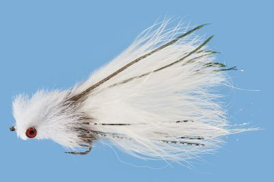 Flyfishing Trout wont be able to resist this lifelike baitfish streamer. Per each. Sizes: 1, 4. Colors: White, Olive, Brown Trout. Color: White. Type: Streamers. - $6.79