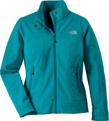 Entertainment Ideal for windy, potentially wet conditions, are the norm, the full-zip Calentito Soft-Shell Jacket from the North Face keeps you warm and protected inside its wind- and water-resistant exterior. The polyester TNF Apex Universal soft-shell fabric is made with a touch of elastane for unrestricted movement. Two handwarmer pockets. Snap collar closure. Standard fit. 95/5 polyester/elastane construction. Imported.Center back length: 24.5.Sizes: S-XL.Colors: Lavendula Purple, Beach Glass Green, Vanadis Grey, Moonlight Ivory, Ultramarine Blue, Magic Magenta, TNF Black, Pache GreyTNF White, Flamenco Blue, Fuschia Pink. Type: Jackets. Size: Large. Color: Tnf Black. Size Large. Color Tnf Black. - $99.00