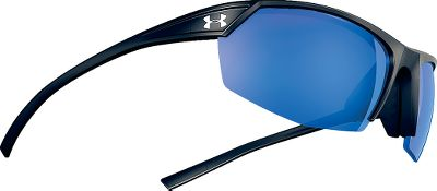 Entertainment The aggressively styled Under Armour Zone 2.0 Polarized Sunglasses boast ArmourFusion frames with superior strength, lightweight comfort and inherent memory that retains a face-fitting shape. Engineered in collaboration with one of the leaders in optics Zeiss the UA Storm lenses feature hydrophobic elements to repel oils, saltwater and other outdoor substances. Innovative Storm lenses reduce glare and provide maximum protection from harmful UV rays.The three-point-grip and adjustable nose pad ensure a comfortable and secure fit. Frames available in both TR90 and ballistics-rated TR90 NZZ. Gray/Blue Mirror lenses boast Multiflection technology that prevents scratches and smudges. Meet or exceed OSHA and ANSI Z87.1 eye-protection standards. Gray lenses reduce uncomfortable sun glare and block 100% of UVA and UVB rays. Color: Storm. Gender: Male. Type: Polarized. - $144.99