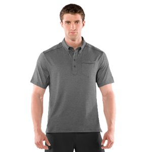 Golf Ultra-soft fabric delivers incredible next-to-skin comfort and superior UA performanceLightweight, 4-way stretch construction improves mobility and accelerates dry timeSignature Moisture Transport System wicks sweat away from the body, keeping you cool and dryAnti-odor technology prevents the growth of odor-causing microbes, keeping your gear fresher, longerRolled shoulder seams for enhanced fit, comfort, and mobility4-button placket, left-chest pocket, and tonal piping for classic golf style, on and off the course5.0 oz. Polyester/ElastaneImported - $34.99