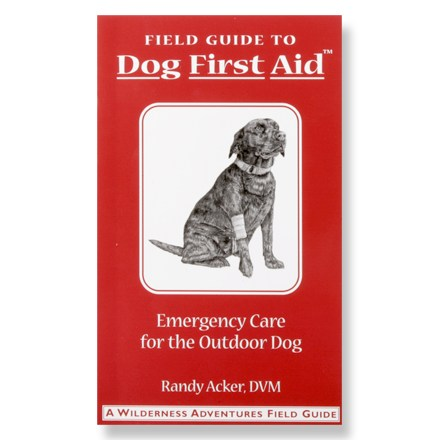 Entertainment This pocket field guide leads you through first aid techniques for handling injuries and problems that your dog can encounter in the field - $6.93