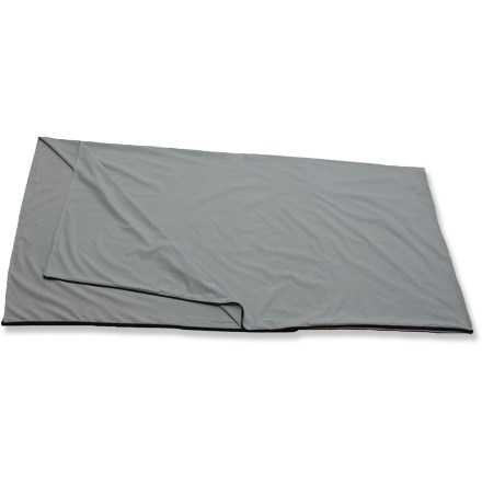Camp and Hike Help extend the life of your rectangular-shaped sleeping bag and add a few degrees of warmth with this simple sleeping bag liner! - $11.73