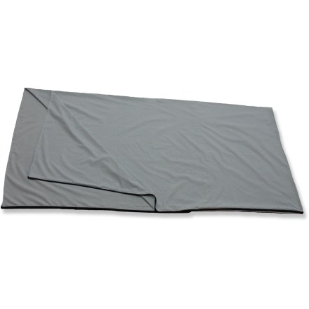 Camp and Hike This Alps Mountaineering sleeping bag liner can extend the life of your bag and add a few degrees of warmth. - $18.73