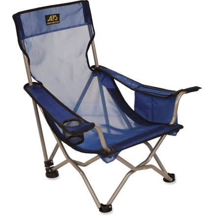 Camp and Hike The Alps Mountaineering Getaway Chair is lightweight and folds down compact. It's the perfect chair for travel, beach trips and car camping! - $31.73