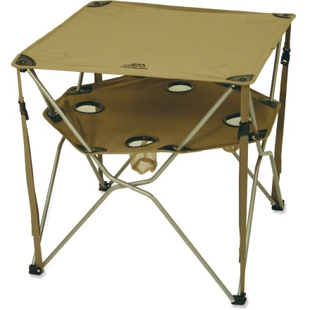 Camp and Hike The ALPS Mountaineering Eclipse table is the perfect choice for campground gatherings. - $30.73