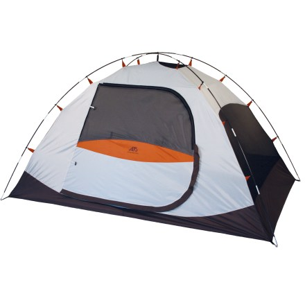 Camp and Hike Built for 4, the freestanding ALPS Mountaineering Meramac 4 is perfect for fun family camping trips! - $89.73