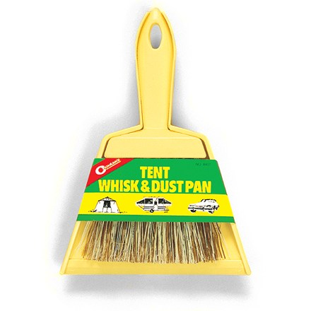 Camp and Hike Pack this little whisk broom along to keep your tent tidy. - $4.50