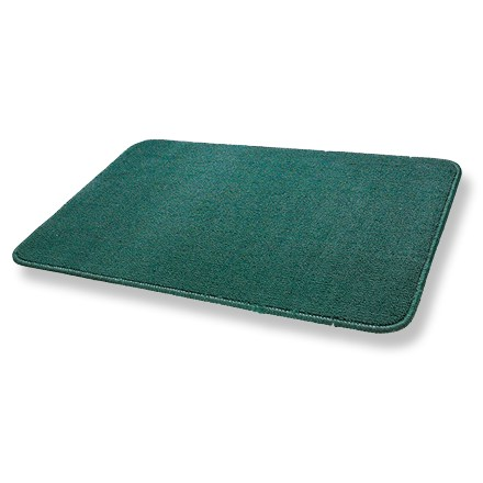 Camp and Hike This all-purpose mat helps keep your tent clean--use it inside or outside. - $12.00