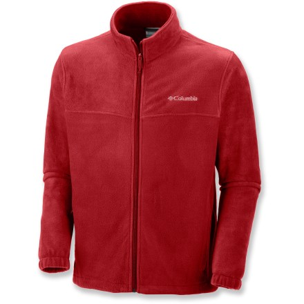 Camp and Hike Whether you want to venture outside or stay by the fire, the Columbia Steens Mountain(TM) Full-Zip 2.0 fleece jacket is ready and waiting when you want to stay warm in chilly weather. - $16.83