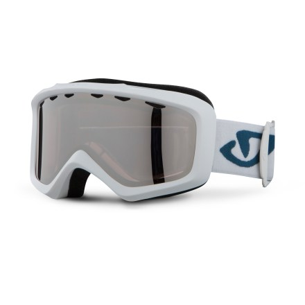Ski Offering a contoured fit and fog-resistance, the Giro Charm women's snow goggles will help keep your sight lines clear and comfortable. Goggles are designed to offer an optimal fit around facial anatomy, resulting in excellent comfort and helmet compatibility. Thermoformed cylindrical lens offers a wide field of vision. Vents in lens above the gasket provide an escape route for moisture; antifog coating reduces moisture buildup on inside of goggles. Plush, dual-layered face foam seals out the elements and is finished with a soft, moisture-wicking microfleece. Rose Silver lens combines a rose-based tint with a single-layer silver flash for medium light conditions; allows 30% visible light transmission. Compact-size frame of the Giro Charm snow goggles is designed to fit small- and medium-size women's faces. - $55.00