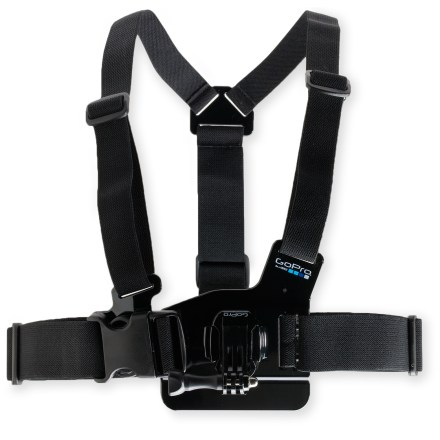 Entertainment The GoPro Chest Mount harness makes it easy to capture immersive video and photos from a lower-than-the-helmet point of view. It's ideal for skiing, mountain biking and paddling. - $40.00