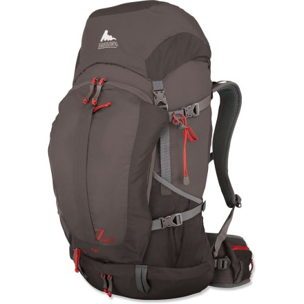 Camp and Hike The streamlined Gregory Z40 pack helps you slim down your load for light and fast trips. It carries like a dream so you won't be sacrificing performance for comfort. - $79.93
