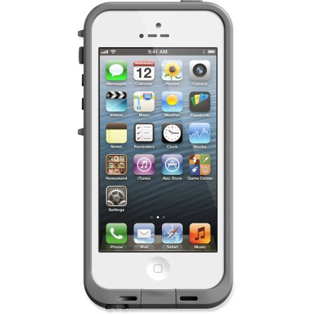 Entertainment Impervious to moisture, dirt and shock, the LifeProof iPhone(R) 5 case gives you the freedom to bring your iPhone along wherever you may roam. - $35.83