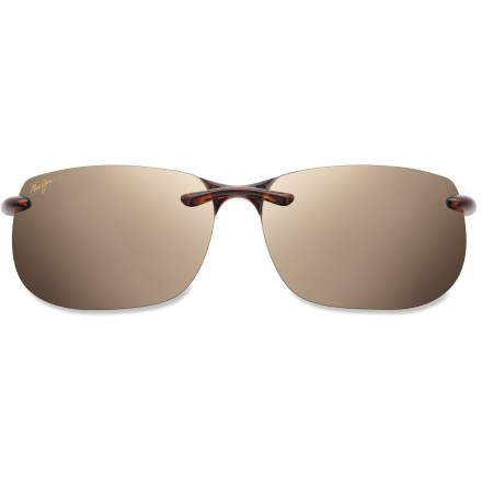 Entertainment Maui Jim Banyans polarized sunglasses shade your eyes from the sun's harmful rays. They also boost colors and eliminate glare. - $219.00