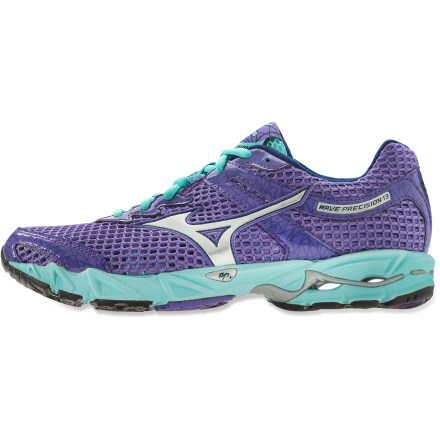 Fitness If you're ready to blaze, the neutral-cushioned Mizuno Wave Precision 13 road-running shoes offer a bouncy feel to propel you on your way. - $54.83