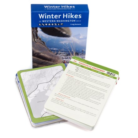 Camp and Hike Collect 'em, trade 'em and put 'em on the fridge after you've hiked 'em! Winter Hikes of Western Washington is sure to please winter hiking enthusiasts. - $15.95