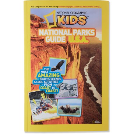Entertainment This National Geographic Kids National Parks Guide U.S.A. introduces the wonder and majesty of our national parks to your young explorers. - $6.93