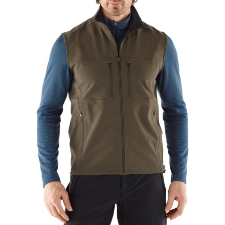The REI Endeavor vest keeps your core warm on mountain adventures with a technical fabric that blocks wind, repels moisture and stretches. - $28.93