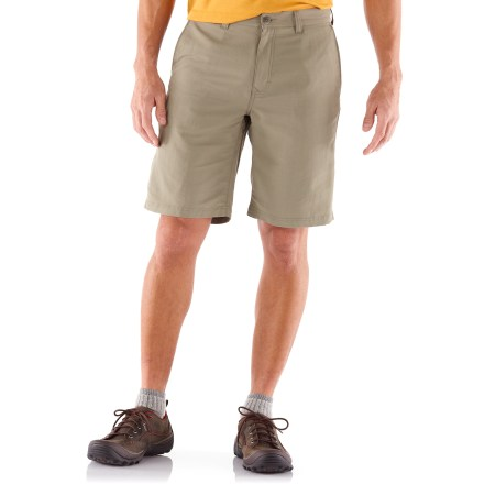 Camp and Hike Named after our own travel company, the REI Adventures shorts offer quick-drying convenience and travel-savvy details that are a perfect match for outdoor lifestyles. - $10.83