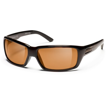 Entertainment In and out of shadows and from sun-up to sun-down, the Smith Backdrop polarized photochromic sunglasses are your single eyewear for sun protection. - $219.00