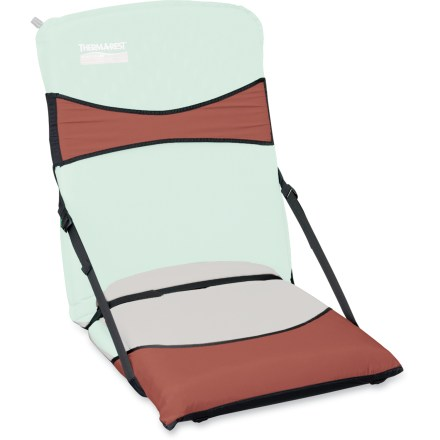 Camp and Hike Transform any 20 in. wide Therm-a-Rest mattress into a comfortable camp chair with this Trekker Chair Kit. Minimalist design allows easy mattress insertion and removal. Therm-a-Rest Trekker chair kit features adjustable side straps and sewn-in composite stays. Lightweight, compact and easy to pack. Closeout. - $19.73