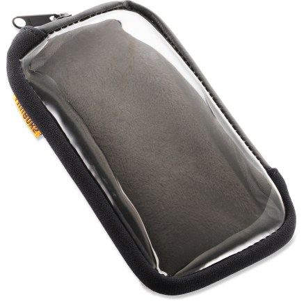 Fitness The Timbuk2 Mission cycling wallet helps protect your larger smartphone during your 2-wheeled adventures. It lets you access your phone's functions, and fits nicely in the pocket of your bike jersey. - $3.83