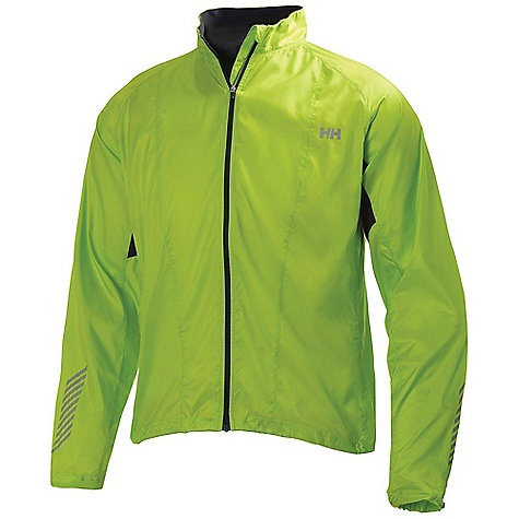 Free Shipping. Helly Hansen Men's Puls Training Jacket DECENT FEATURES of the Helly Hanson Men's Puls Training Jacket Light weight polyester shell fabric Pocket in the back with zip Lifa HH Cool Grid in the back Reflective details Adjustable cuffs The SPECS Fabrics: 100% Polyester Fitting: Regular Fit Weight: 150 grams This product can only be shipped within the United States. Please don't hate us. - $139.95