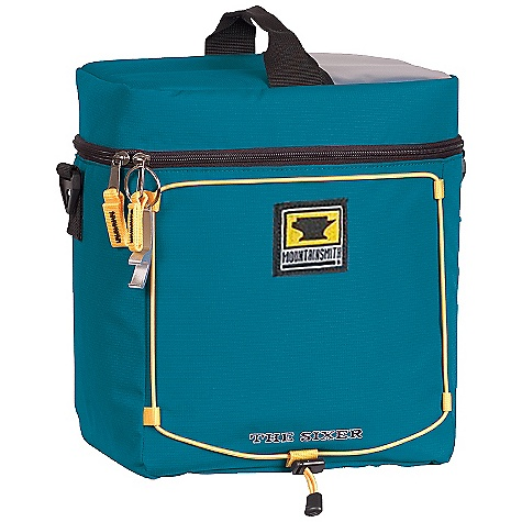Entertainment Mountainsmith Sixer Cooler Bag DECENT FEATURES of the Mountainsmith Travel Trunk #10 Ykk Zippers For Extra Long Durability and Toughness Accepts Accessory Strapette System For Heavy Loaded Adventures Small Detail Organization Features Bomber Nylon Kodra Construction Strapette compatible (L-XXL) Removable anti-slip shoulder strap Wrapped haul handle End haul handles Anti-snag zipper reinforcement Front zipper pocket with elastic rigging Two compression straps Inside zippered pocket The SPECS 600d Nylon Kodra body fabric 1000d Nylon Kodra reinforcement fabric The SPECS for Medium Dimension: (L x H x D): 20 x 11 x 10in. Weight: 1 lbs 14 oz / .85 kg Volume: 2900 cubic inches / 47.5 liter The SPECS for Large Dimension: (L x H x D): 25 x 15 x 12in. Weight: 2 lbs 11 oz / 1.2 kg Volume: 5900 cubic inches / 97 liter The SPECS for X-Large Dimension: (L x H x D): 30 x 16 x 15in. Weight: 3 lbs 10 oz / 1.6 kg Volume: 8500 cubic inches / 140 liter The SPECS for XX-Large Dimension: (L x H x D): 33 x 17 x 16in. Weight: 5 lbs 4 oz / 2.4 kg Volume: 11000 cubic inches / 180 liter - $21.95