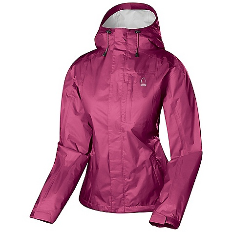 Free Shipping. Sierra Designs Women's Hurricane Jacket DECENT FEATURES of the Sierra Designs Women's Hurricane Jacket Fully-Taped PVC-Free Seams Two Zipper Hand Pockets, One Chest Pocket Helmet Compatible, Adjustable Hood Underarm Vents Includes Stuff Sack Adjustable Cuff The SPECS Center Back Length: (M): 27in. Weight: 11 oz Shell: Hurricane 2L: 100% Nylon Ripstop, DWR - $79.95