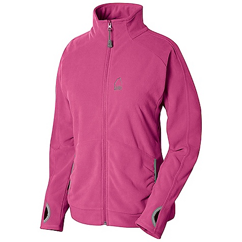 Free Shipping. Sierra Designs Women's Frequency Jacket DECENT FEATURES of the Sierra Designs Women's Frequency Jacket Two Hand Pockets Condor Seeve Construction Mock Collar with Zipper Anti-Pilling Treatment The SPECS Center Back Length: (M): 24 1/2in. Weight: 10 oz Shell: Frequency: 100% Polyester - $54.95