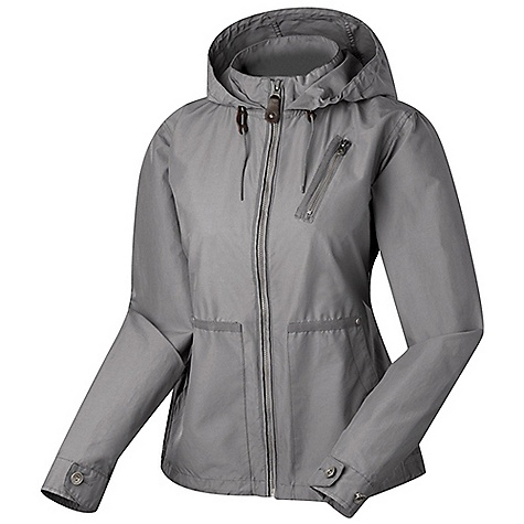 Free Shipping. Sierra Designs Women's J. Tree Hoody DECENT FEATURES of the Sierra Designs Women's J. Tree Hoody Two Hand Pockets, One Chest Pocket Attached, Adjustable Hood Adjustable Hem Adjustable Back Waist Drawcord Adjustable Length Snap-up Back Hem The SPECS Center Back Length: (M): 27 1/2in. Shell: Garment Wash Era-60 60% Cotton, 40% Nylon - $138.95