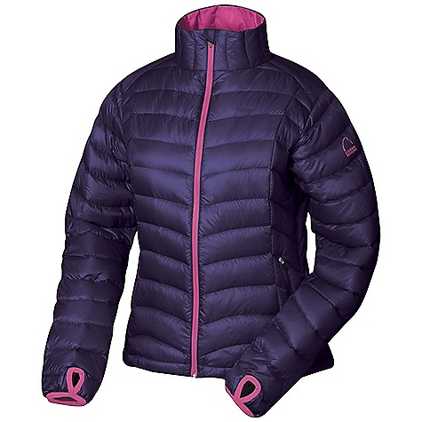 Free Shipping. Sierra Designs Women's Gnar Lite Jacket DECENT FEATURES of the Sierra Designs Women's Gnar Lite Jacket Two Zippered Hand Pockets Two Interior Dump Pockets One Interior Zippered Pocket Interior Center Front Storm Flap Elasticized Cuff with Thumbhole Includes Stuff Sack The SPECS Center Back Length: (M): 24 1/4in. Weight: 9.6 oz Insulation: 800 Fill-Power Goose DriDown Shell: Gnarly: 100% Polyester Ripstop, 30D, DWR 80/20, Cire', 45g/m2 - $228.95