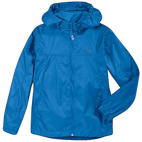 Sierra Designs Youth Microlight Jacket DECENT FEATURES of the Sierra Designs Youth Microlight Jacket Two Zipper Hand Pockets Fitted, Elasticized Hood with Visor Includes Stuff Sack The SPECS Center Back Length: (L): 24in. Weight: 6 oz Shell: Microlight: 100% Polyester - $38.95
