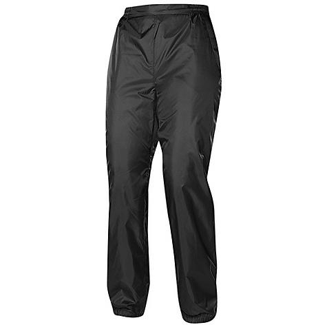 Sierra Designs Women's Microlight Pant DECENT FEATURES of the Sierra Designs Women's Microlight Pant Two Zippered Hand Pockets Gusseted Crotch Includes Stuff Sack Waistband with Elastic Panels and Draw Cord Adjustment Elasticized Cuff The SPECS Inseam: short: 29in., regular: 31in. Weight: 7.5 oz Shell: Microlight: 100% Polyester - $36.95