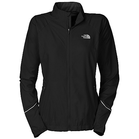 Free Shipping. The North Face Women's Torpedo Jacket DECENT FEATURES of The North Face Women's Torpedo Jacket Performance fit Updated feminine fit 360 degree reflectivity Body-mapped ventilation Cape venting Hand pockets Hem cinch Ambidextrous back pocket Drop tail MP3 cord hole Imported The SPECS Average Weight: 7.8 oz Center Back Length: 26in. Body: 76 g/m2 100% polyester texture woven Panel: 115 g/m2 100% polyester mesh This product can only be shipped within the United States. Please don't hate us. - $98.95