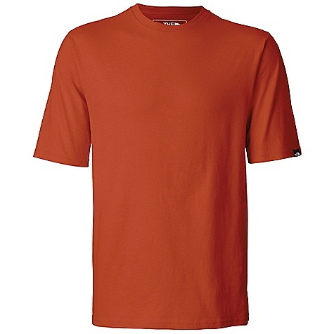 The North Face Men's S-S The North Face Crew DECENT FEATURES of The North Face Men's Short Sleeve The North Face Crew Comfortable, lightweight, easy-care fabric 1x1 Rib at collar Logo clip label at sleeve opening The SPECS Average Weight: 10.58 oz / 300 g High Point Shoulder: 29in. 175 g/m2 100% cotton sueded jersey This product can only be shipped within the United States. Please don't hate us. - $25.00