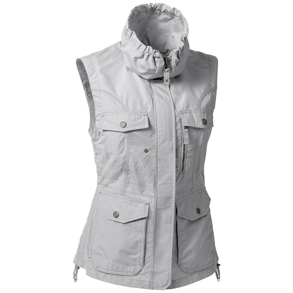 Entertainment Eddie Bauer Travex Vest - Travelers will appreciate all the pockets of our travel vest. All your travel needs are right at hand, so you can capture that great shot or make your way through foreign city streets with ease. Made with Travex, it's as stylish as it is functional, so you needn't sacrifice good looks while globe-trotting. It's made of lightweight polyester/cotton with fast dry, UPF 50 protection and a DWR (durable water-repellent) finish that sheds water and resists stains.                                           Travex                                                                              Quick-dry apparel with UPF protection that's perfectly suited for trekking, traveling and everyday use Imported. - $39.99